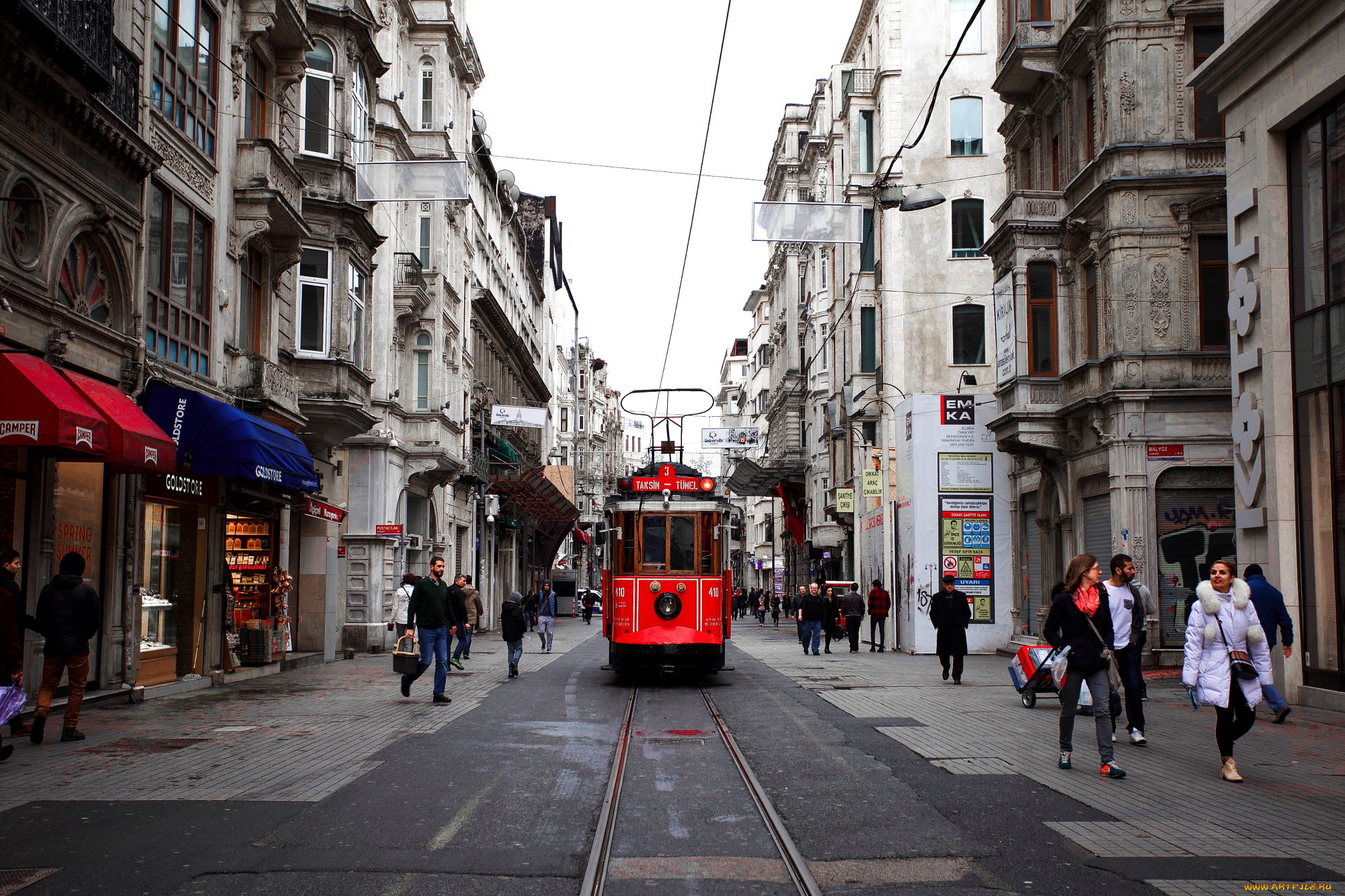 Улицы стамбула фото